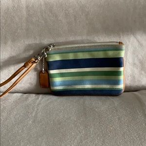 Coach Wristlet, some wear but overall good shape